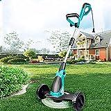 WSVULLD Gartengrasentrimmer, kleines Handheld-Weeder-Gras, leistungsstarker 650w Motor, Trimmen und...