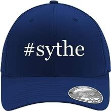 #sythe - Adult Men's Hashtag Flexfit Baseball Hat Cap