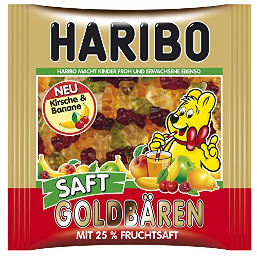 Haribo Juicy Gold Bears 450g/15.87-Ounce in resealable bag