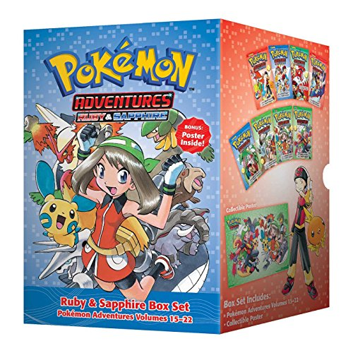 Pokémon Adventures Ruby & Sapphire Box Set: Includes Volumes 15-22 (Pokémon Manga Box Sets)