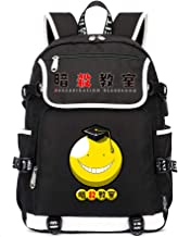 Assassination Classroom Casual Backpack Backpacks Computer Bag Simple Black School Bag Student Backpack Casual Daypack Unisex (Color : Black10, Size : 37 x 16 x 45cm)