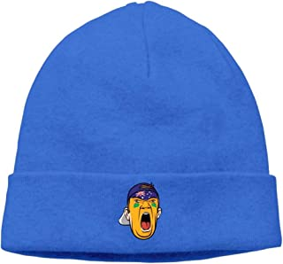 Beanie Caps for Unisex Football Fan Head Australia Winter Warm Knit Hats RoyalBlue