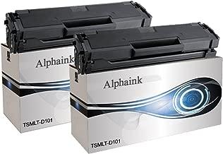 Alphaink AI-KIT2-MLT-D101 Toner per Samsung MLT-D101S ML-2160 ML-2161 ML-2162 ML-2165 ML-2165W ML-2168 SCX-3400 SCX-3400F SCX-3401 SCX-3405 SCX-3405F SCX-3405FW SCX-3405W SF760P SF765P D101 S D101S 1500 copie