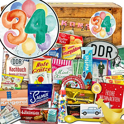 34 Geschenke zum Jubiläum + Adventskalender + Weihnachtskalender für Bruder