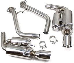 Rev9(CB-024) FlowMAXX Axle-Back Exhaust Kit, Stainless Steel, 4