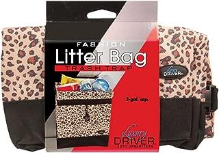 Luxury Driver 12482 Leopard Fashion Litter Bag Trash Trap Organizer