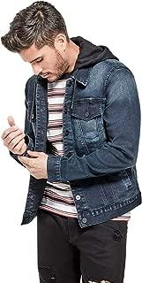 Men's Vertix Hooded Super Stretch Denim Jacket