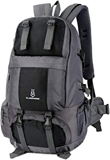 Lixada 50L Internal Frame Backpack,Waterproof & Durable Hiking Travel Sport Climbing Camping Daypack Bag