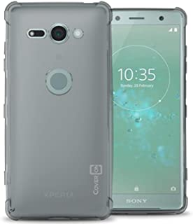 Sony Xperia XZ2 Compact Case cover, coverON, Soft Gel TPU Skin Fit Case, Clear