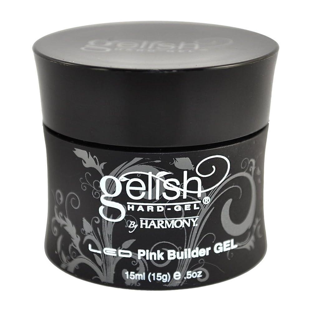 わがまま大聖堂危険にさらされているHarmony Gelish LED Hard Gel - Pink Builder - 0.5oz / 15ml