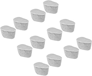 Charcoal Water Filters Replacement For KRUPS Coffee Makers F472 - 6 pks