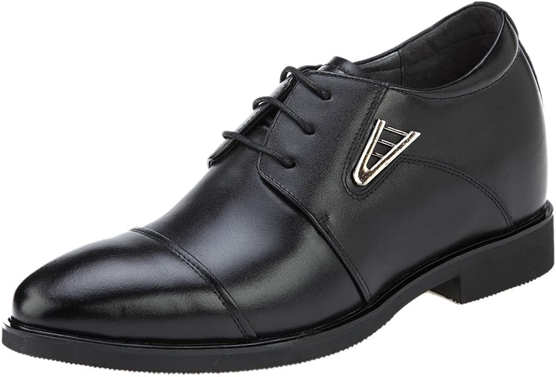 3.5 Inch Height Increasing Cap Toe Derby Optimazation Men Dress shoes Taller