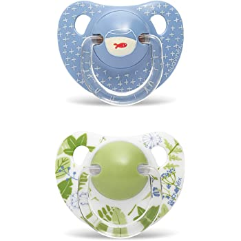 color azul Suavinex Bamb/ús Panda tetina de l/átex Chupete 0-6 meses