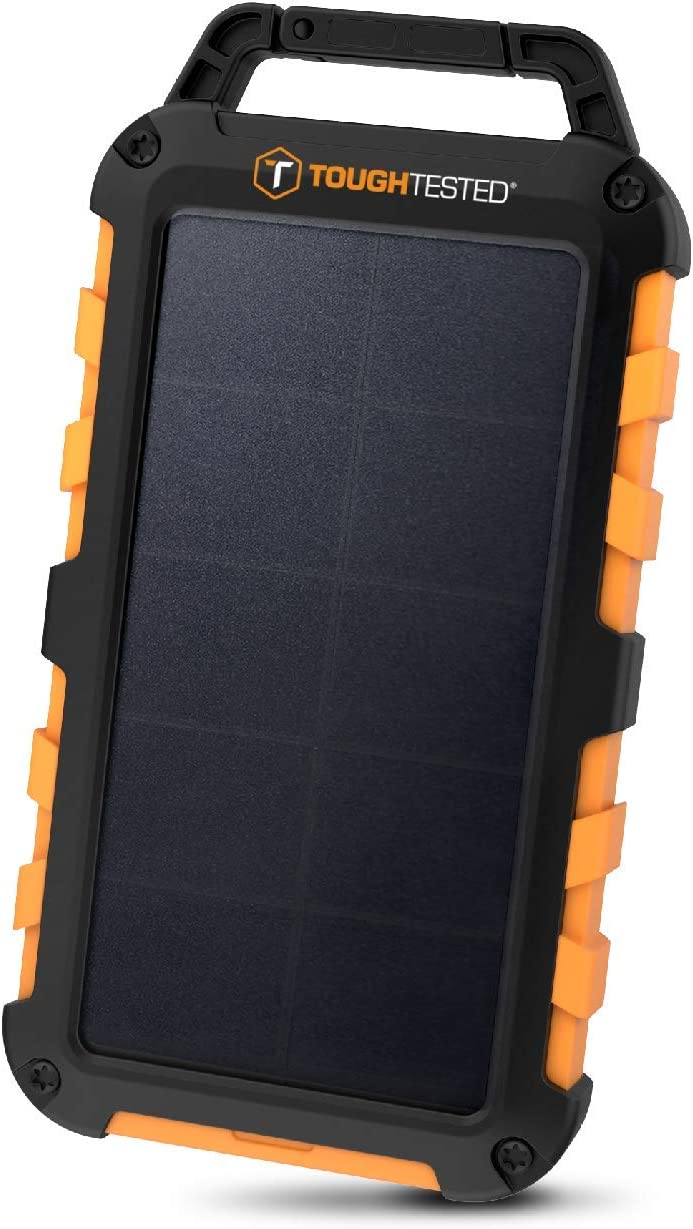 It is very popular ToughTested Solar Power Bank sale 10000mAh with Charger Portable LE