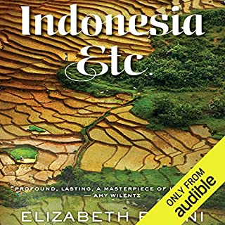 Indonesia, Etc.     Exploring the Improbable Nation              By:                                                                                                                                 Elizabeth Pisani                               Narrated by:                                                                                                                                 Jan Cramer                      Length: 13 hrs and 3 mins     124 ratings     Overall 4.2