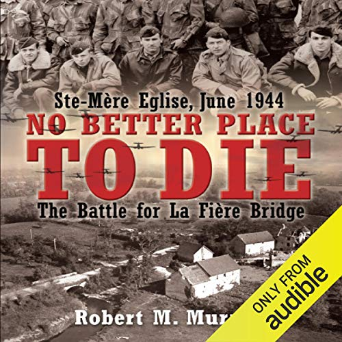 No Better Place to Die audiobook cover art