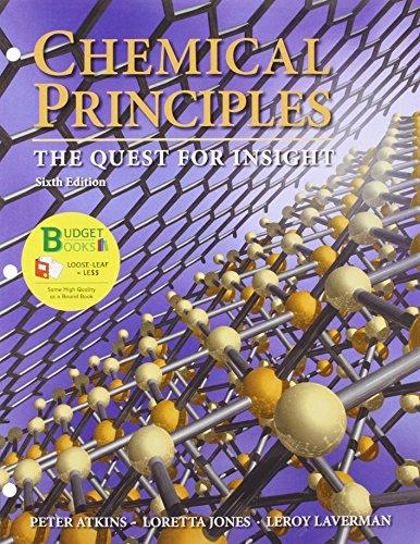 Loose-leaf Version for Chemical Principles