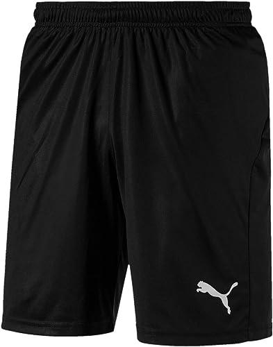 Puma Liga Shorts Core with Brief Slip-Homme-Pourpre (Prism Violet/Puma Blanc)-S