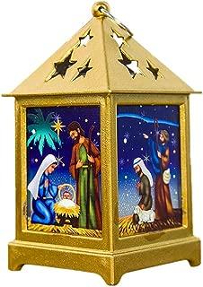 Fan-Ling Christmas Decorations Light Ornaments Craft Home Decor Hanging Pendant,Christmas Handheld Light,LED Light for Christmas Decoration Party Home Decor (B)