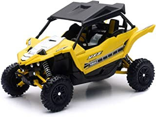 Orange Cycle Parts Die-Cast Replica Toy Yellow 1:18 Scale Yamaha YXZ1000R SE UTV Side-by-Side Dune Buggy by NewRay 57813B