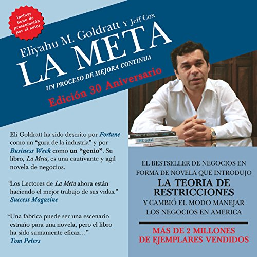La Meta [The Goal] audiobook cover art