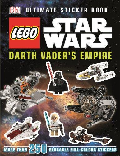 LEGO® Star Wars™ Darth Vader\'s Empire Ultimate Sticker Book (Ultimate Stickers)
