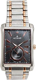 Casual Watch for Men by Accurate, Multi Color, Rectangle, AMQ1604RGT