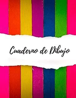 CUADERNO DE DIBUJO: BONITO CUADERNO PARA DIBUJAR, 22cm X 28cm. 100 PAGINAS EN BLANCO, GRAN TAMAÑO. REGALO CREATIVO Y ORIGINAL (Spanish Edition)