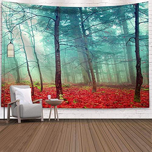 YDyun Tapiz Dormitorio Sala Dormitorio Decoración Tela de Fondo de Arte estético Tela Colgante
