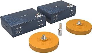 Haskyy folieradiator med adapter för professionell borttagning av folie och lim på fordonet, bilen eller motorcykeln
