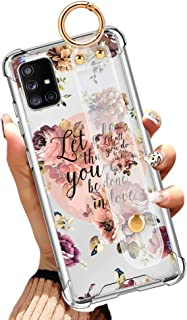 Samsung Galaxy A51 (NOT A51 5G) Clear Case Anti-Yellow Slim Phone Case Full Protective Cover with Design Christian Quotes ...