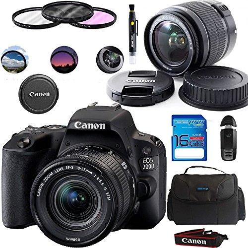 Canon EOS 200D / SL2 Camera with EF-S...