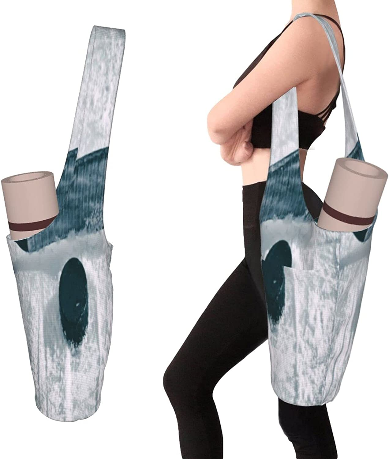 Yoga Mats Bag OFFer With Pockets Size Thick Large Reservation Men Access
