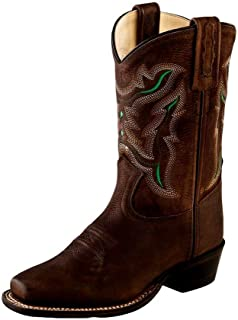 Old West Kids Boots Medium Square Toe (Toddler/Little Kid)