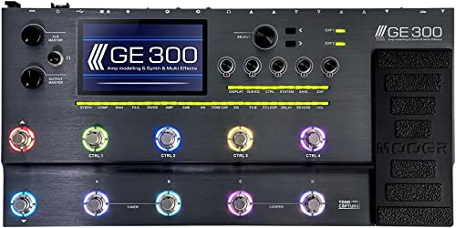 MOOER GE300 Amp Modelling Processor Synth Pedal Guitar Multi Effects