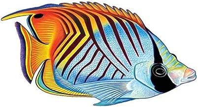 Threadfin Butterflyfish Porcelain Swimming Pool Mosaic (5