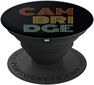 Retro Cambridge England PopSockets Grip and Stand for Phones and Tablets
