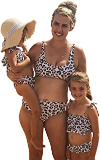 Mommy and Me Swimsuits for Women Baby Girl Bathing Suit Matching Family Swimwear