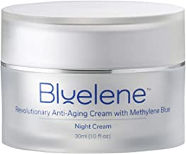 Anti Aging Night Cream, Bluelene. Revolutionary Anti Wrinkle Face Cream with Methylene Blue (30 ml)