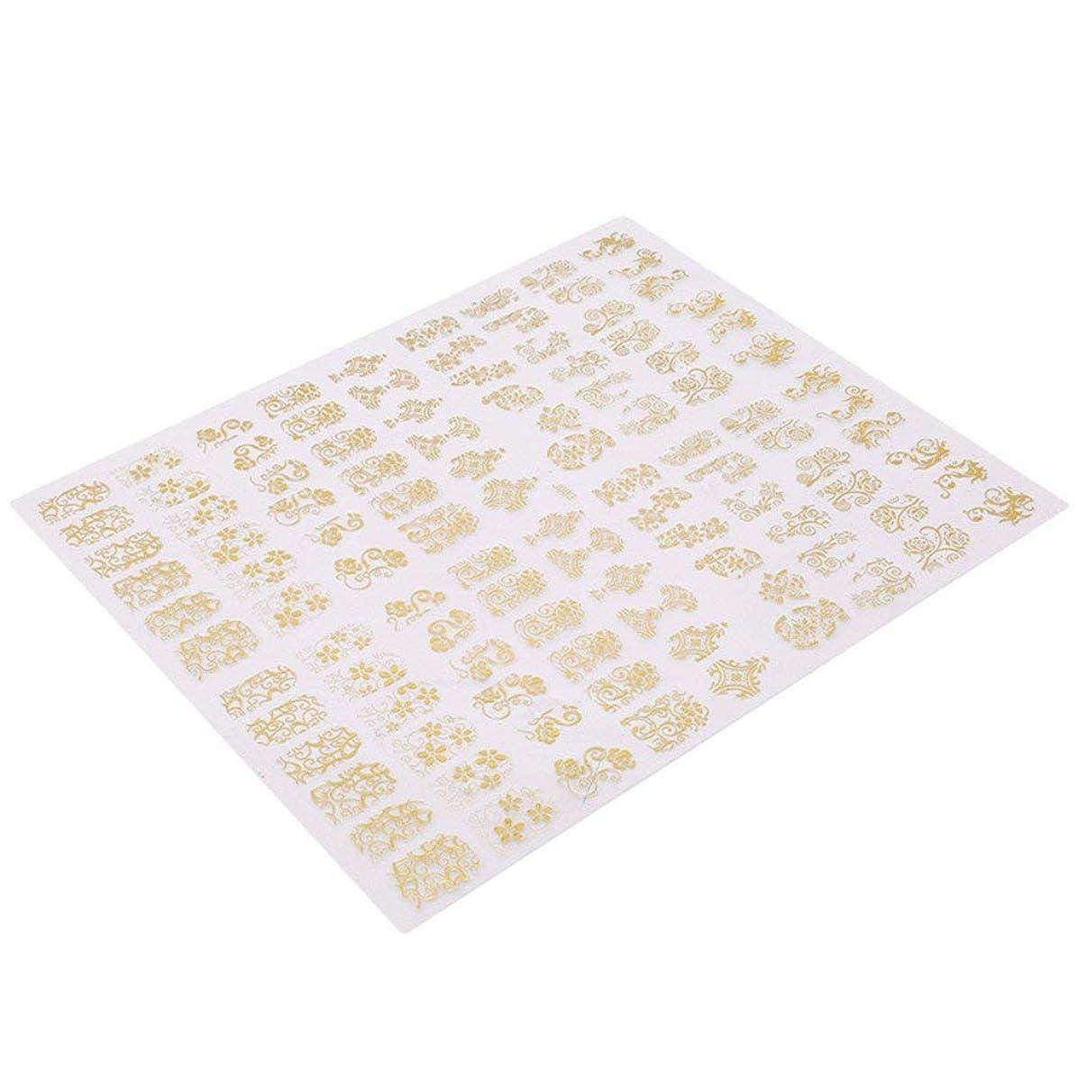 スケッチ上下するリビングルームMen club ネイルシール 花 ゴールド 極薄 ネイルステッカー ネイルアート 可愛い ネイル飾り ネイルフ 耐久性