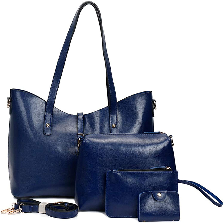 Unlimited energy Pu Leather Womens Portable Handbags Tote Bag Shoulder Bag Purse
