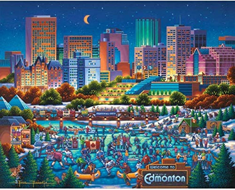 Dowdle Jigsaw Puzzle  Edmonton  1000 Piece