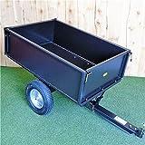 Garden Trailer - Folding Steel Dump Cart from <span class='highlight'>Titan</span> <span class='highlight'>Pro</span>
