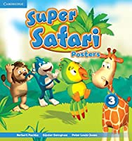 Super Safari Level 3 Posters (10) (Super Minds)
