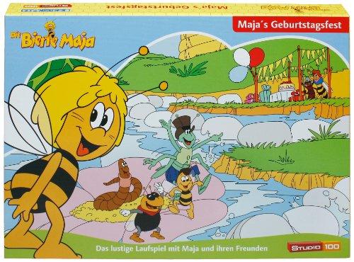 Studio 100 - MEMBDE000290 - Die Biene Maja : Brettspiel Maja's Geburtstagsfest