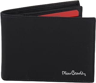 c787e3abae Portafoglio uomo PIERRE CARDIN nero in pelle porta libretto assegni A5520