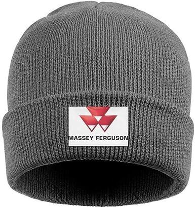 NEW Beanie Hat MASSEY FERGUSON black Adult Size
