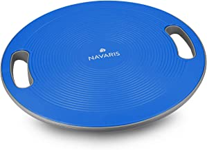 Navaris Therapy Gyroscope Balance Board met handvat - Therapy Gyroscope Stepper - Fitness Reha Balance Strength Training -...