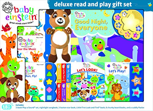 Baby Einstein Deluxe Read and Play Gift Set 9781450890632