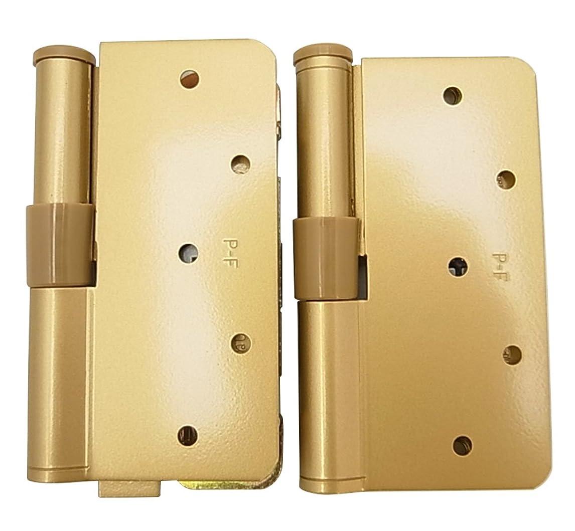 質素な擬人化控えめなWAKI アーチ3次元調整丁番 右用 ゴールド